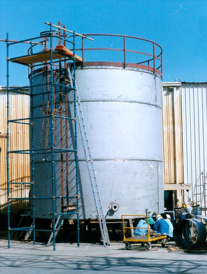SS 304 Jet Fuel Storage Tank