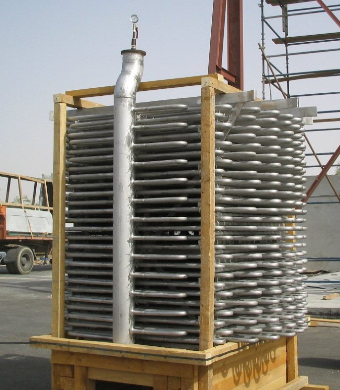 Stainless Steel 304 Salt Bundle For Melamine Reactor