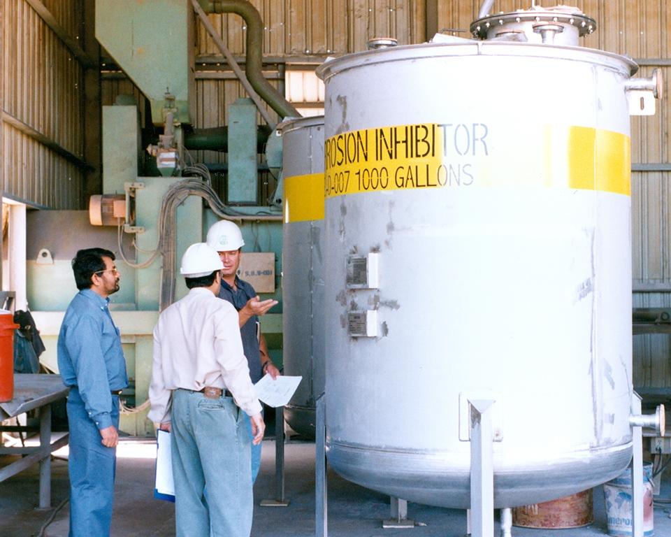 1000 US Gallon SS 316L Corrosion Inhibitor Tank