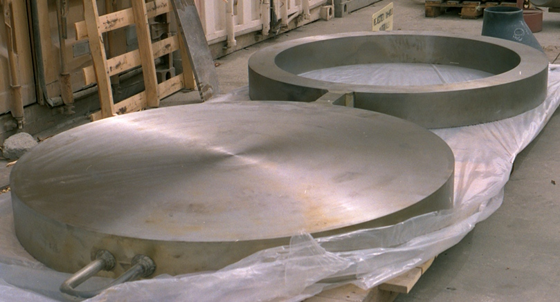 48 Inch Dia. Spectacle Plate