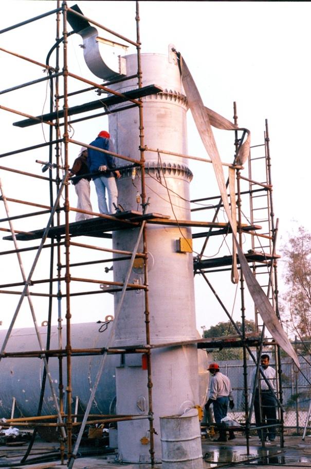 Stainless Steel 316L RG Degassifier