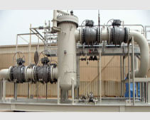 Sales and Ethane Filter Skid