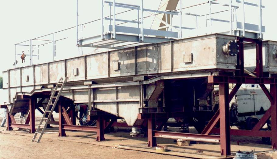 Stainless Steel De-gritter and  Parshall Flume