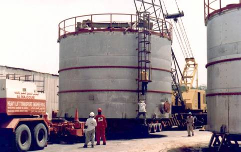 Stainless Steel Polypropylene and Styrene Storage Tanks